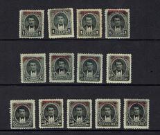 ECUADOR...EARLY OFFICIALS...1894 - Ecuador