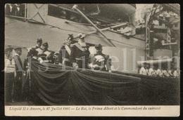 Postcard / CPA / ROYALTY / Belgique / België / Belgium / Koning Leopold II / Roi Leopold II / Antwerpen / 1905 - Antwerpen