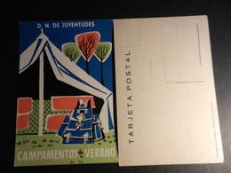19910) JUVENTUDES CAMPAMENTO DE VERANO TENDA CON ZAINO NON VIAGGIATA - Scoutismo