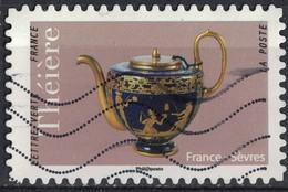 France 2018 Oblitéré Used Théière De France Sèvres Y&T 1620 - France