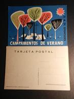 19910) JUVENTUDES CAMPAMENTO DE VERANO FORESTA STILIZZATA E CAMPEGGIO NON VIAGGIATA - Scoutismo