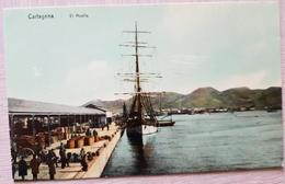 Spain Cartagena El Muelle - Spanien