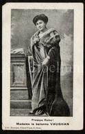 Postcard / ROYALTY / Belgique / Belgium / Baronne De Vaughan / Barones Van Vaughan / Leopold II / Unused - Familles Royales