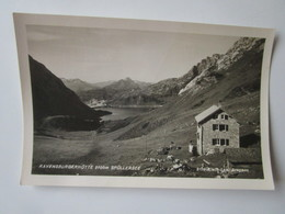Ravensburgerhutte 2900m Spullersee. Risch-Lau 3150 - Autriche