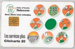 PHONE CARD - COSTA D'AVORIO (E44.29.5 - Côte D'Ivoire