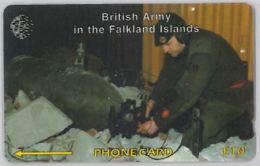 PHONE CARD - FALKLAND (E44.31.3 - Isole Falkland
