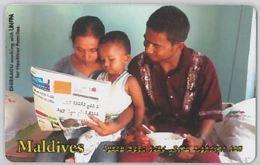 PHONE CARD - MALDIVE (E44.33.4 - Maldiven