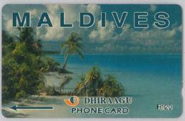 PHONE CARD - MALDIVE (E44.33.6 - Maldiven