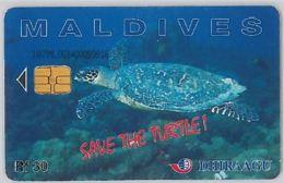 PHONE CARD - MALDIVE (E44.33.7 - Maldiven
