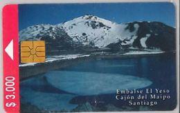 PHONE CARD - CILE (E44.36.8 - Chile
