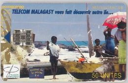 PHONE CARD - MADAGASCAR (E44.37.8 - Madagascar