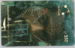 PHONE CARD - SOLOMON ISLAND (E44.39.1 - Isole Salomon