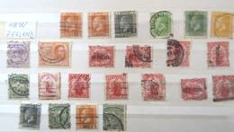 1882/ 1901 New Zealand - Usati