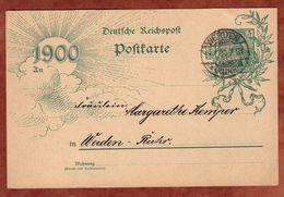 P 43 II Germania Jahrhundertkarte, Werden 1900 (70797) - Deutschland