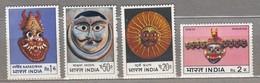 INDIA 1974 Art MNH(**) Mi 586-589 #23933 - Neufs