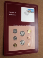 FEDERAL REPUBLIC OF GERMANY ( From The Serie Coin Sets Of All Nations ) Card 20,5 X 29,5 Cm. ) + Stamp '88 - [11] Collections