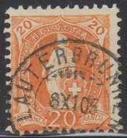 Schweiz, 8.11.1905, Lauterbrunnen, 66E, Stehende Helvetia, Vollstempel, Siehe Scan! - Oblitérés