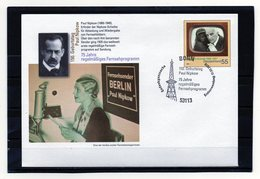 BRD, 2010, Ganzsachen-Umschlag Mit Michel 2731 Und Erstverwendungsstempel, Paul Nipkow/Fernsehen - Sobres - Usados