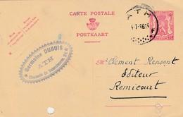 ATH  , Carte Publicité,  Germaine Dubois - Ath