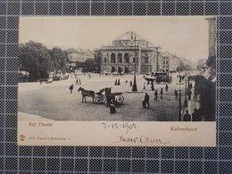9395) Danemark Kobenhavn Kgl Theater 1902 Ed. Alex Vincent's - Dänemark