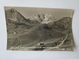 Gasthof Adler Hochkrummbach 1660 M An Der Neuen Tannbergsrtasse Mit Braunarlspitze 2651 M. Foto Risch-Lau 10264 - Autriche