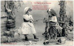 BERGERET - La Cigale Et La Fourmi N° 4 - Bergeret