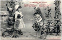 BERGERET - La Cigale Et La Fourmi N° 3 - Bergeret
