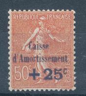 N°250 NEUF**CAISSE D'AMORTISSEMENT - Neufs