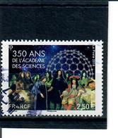 Yt 5074 350 Ans De L'academie Des Sciences-cachet Rond - France