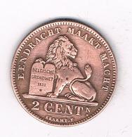 2 CENTIMES 1919 VL  BELGIE /2243/ - 1909-1934: Albert I