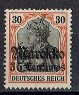 Marokko 1911/1919 // Mi. 51 ** - Deutsche Post In Marokko