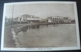 NEW ANCIENT  POSTALCARD OF  MASSAUA .....VEDUTA DI TAULUD - Erythrée