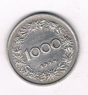1000 KRONEN  1924 OOSTENRIJK /2245/ - Autriche