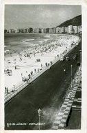 COPACABANA, RIO DE JANEIRO, BRASIL. POSTAL CARD CPA NO CIRCULADA ESCRITA / UNCIRCULATED WRITTEN -LILHU - Copacabana