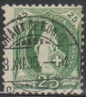 Schweiz, 8.12.1895, Chaux De Fonds, 67D, Stehende Helvetia, Vollstempel, Siehe Scan! - Used Stamps