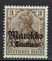 Marokko 1911/1919 // Mi. 46 * - Deutsche Post In Marokko