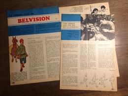 PUB PUBLICITE HERGE TINTIN LE TEMPLE DU SOLEIL STUDIOS BELVISION - Vieux Papiers