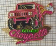 4x4   CHOUPETTE    JEEP   ROSE FLUO - Rallye