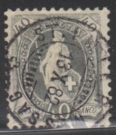 Schweiz, 13.10.1882, St. Imier, 69A, Stehende Helvetia, Vollstempel, Siehe Scan! - Used Stamps