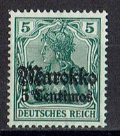 Marokko 1911/1919 // Mi. 47 * - Deutsche Post In Marokko