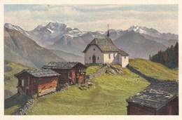 Switzerland, Suisse, Bettmeralp Ab Betten Bei Riederalp, Fletschorn Und Mischabel (pk56962) - Suisse