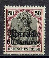 Marokko 1911/1919 // Mi. 53 I * - Deutsche Post In Marokko