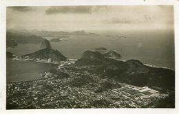 PAO DE ASSUCAR. PRAIA DE COPACABANA, RIO DE JANEIRO, BRASIL. POSTAL CARD CPA NO CIRCULADA / UNCIRCULATED -LILHU - Copacabana