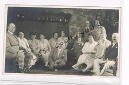 CARTE POSTALE PHOTO ANCIENNE Photo De Famille Pas De Date - Souvenir De...