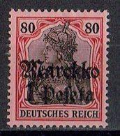Marokko 1911/1919 // Mi. 54 * - Deutsche Post In Marokko