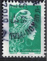 France 2018 Oblitéré Rond Used Marianne L'engagée D'Yseult Digan LV 20g. Y&T 5252 SU - 2018-... Marianne L'Engagée