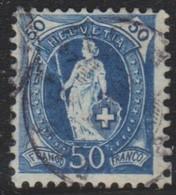 Schweiz, 1894, 70D, 2.29/I, Stehende Helvetia, Vollstempel, Siehe Scan! - Used Stamps