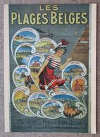 (K202) - Le Littoral Belge (1900) - Les Plages Belges (Anoniem/Anonyme) - Chemin De Fer De L'Etat Belge - Bélgica