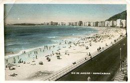 COPACABANA, RIO DE JANEIRO, BRASIL. POSTAL CARD CPA NO CIRCULADA ESCRITA / UNCIRCULATED WRITTEN 1951 -LILHU - Copacabana