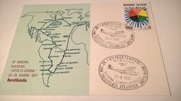 1977 MOSTRA AEROFILATELIA CITTA' DI CESENA - 50° TRASVOLATA ATLANTICA SANTA MARIA - Esposizioni